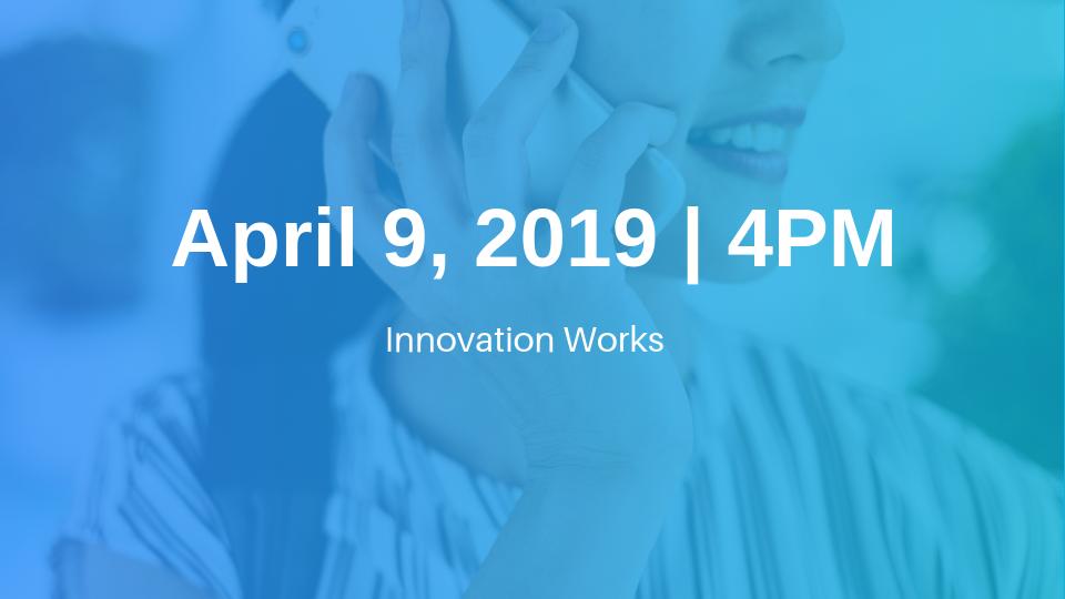 April 9 Afternoon Cohort Information Session
