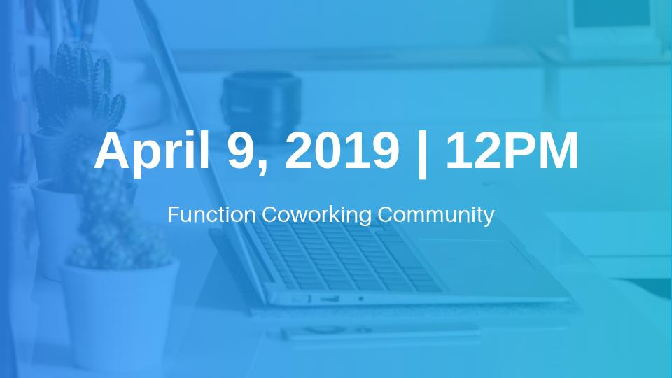 April 9 Morning Cohort Information Session