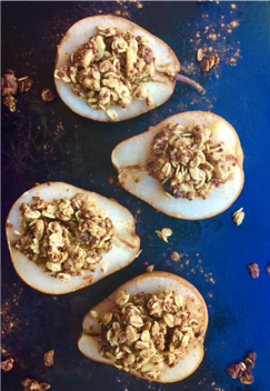 Hungry Harvest Recipe - Baked Granola Pears