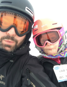 Skiing with Ellie