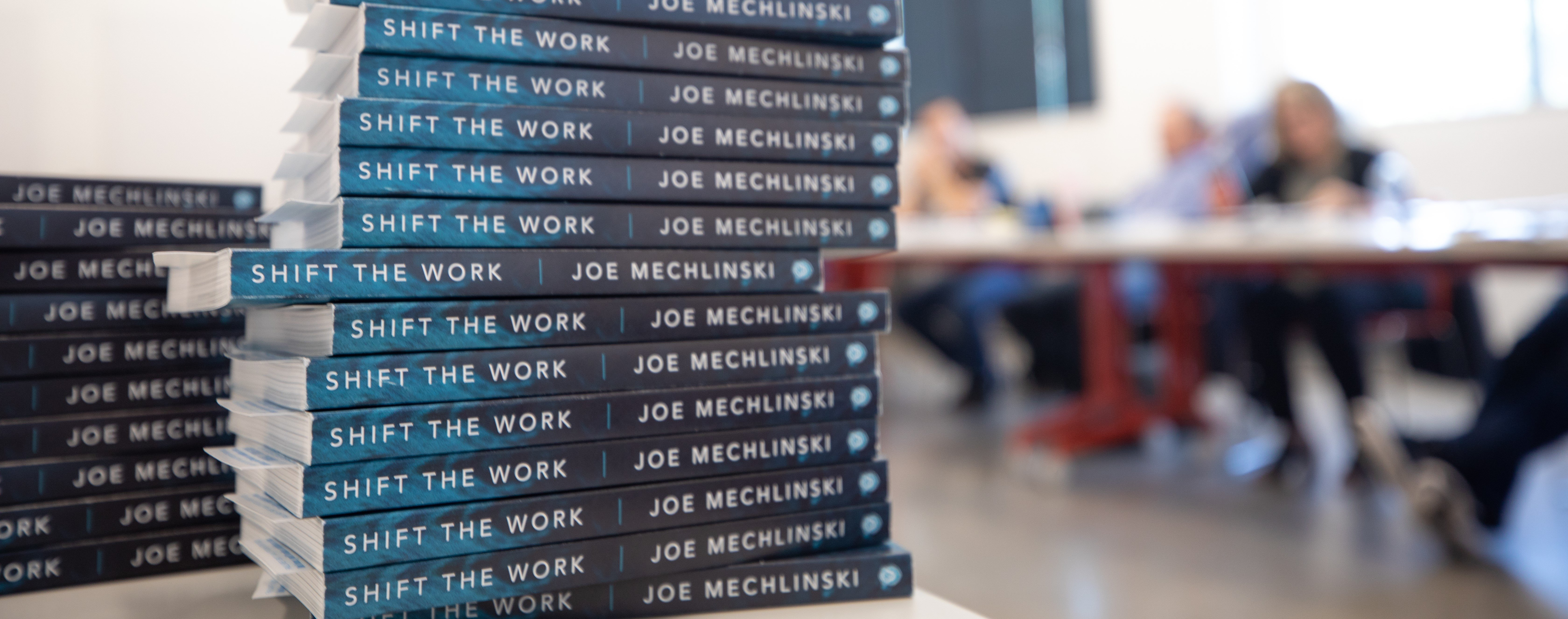 Shift The Work Book Launch Party | Sept 13