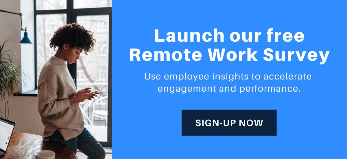 Remote Work Survey Sign-up